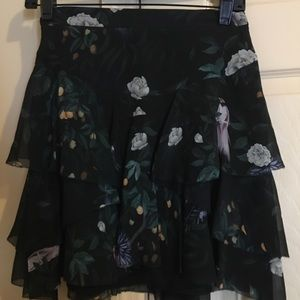 CAMiLLA & MARC MINI SILK SKIRT